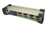 Aten CS1744 4 Port Dual-View KVMP Switch & USB Hub CS1744 No Box No Cables